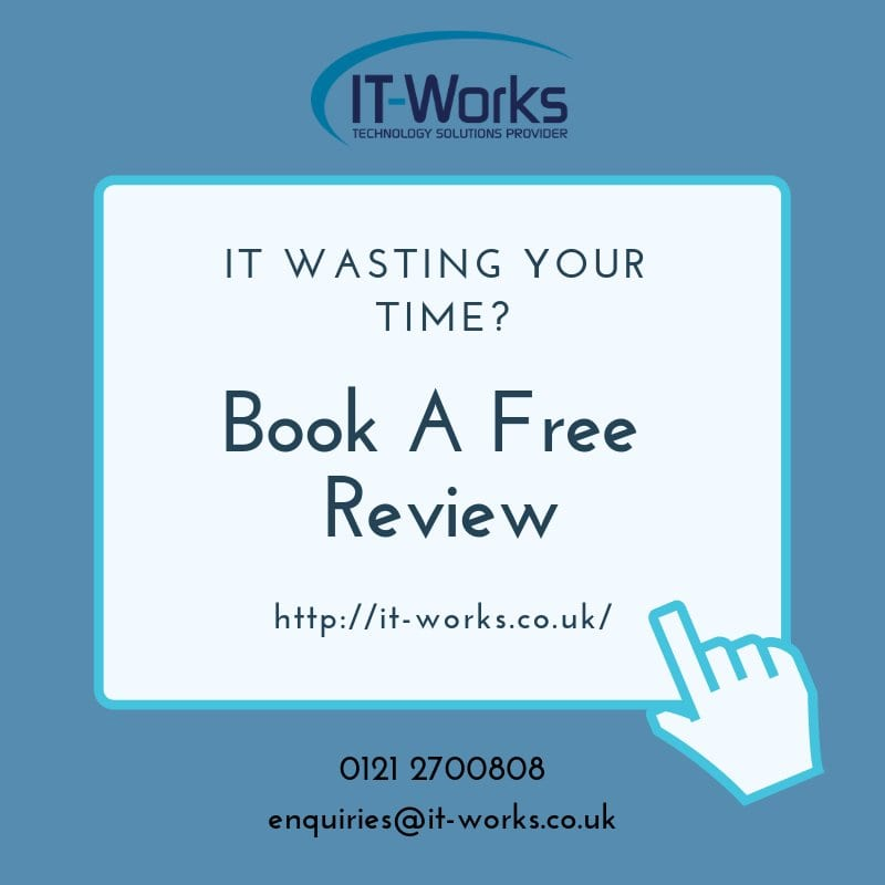 Book A Free IT Review with IT-Works